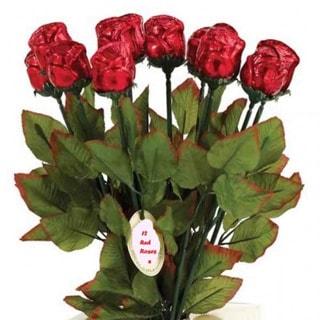 Milk Chocolate Long Stem Roses Bouquet