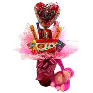 Monkey Love Candy Basket