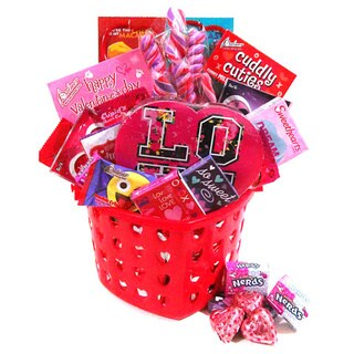 Valentine Candy Gift Bucket