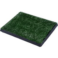 Pawhut Green Grass Pad Dog Potty