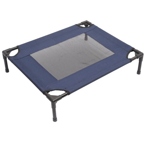 """Pawhut 30"""" x 24"""" Elevated Pet Bed Cot"""