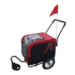 Aosom Elite Jr Dog Bike Trailer Pet Stroller