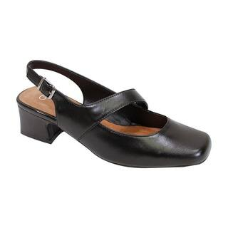 Fic Peerage Women's Trixie Leather Extra Wide Slingback|https://ak1.ostkcdn.com/images/products/14205069/P20799497.jpg?impolicy=medium