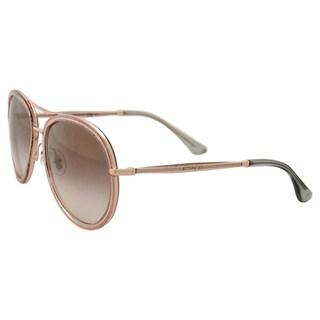 Jimmy Choo Tora/S QBQNH - Glitter Pink by Jimmy Choo for Women - 57-18-140 mm Sunglasses