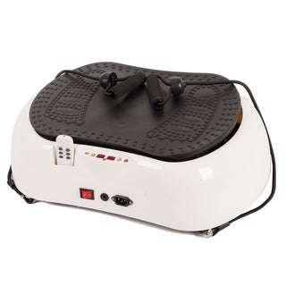 Emer Whtie Whole Body Vibration Basic Reshape Fitness Machine Platform