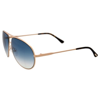 Tom Ford FT0450 Cliff 28P - Shiny Rose Gold by Tom Ford for Men - 61-11-140 mm Sunglasses