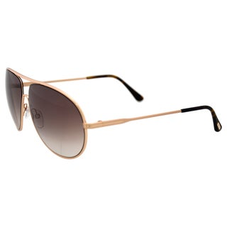 Tom Ford FT0450 Cliff 28F - Shiny Rose Gold by Tom Ford for Men - 61-11-140 mm Sunglasses