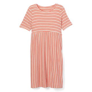 Spicy Mix Girls' Keely Grey and Pink Rayon and Spandex Striped Long Maxi Dress|https://ak1.ostkcdn.com/images/products/14205177/P20799508.jpg?impolicy=medium