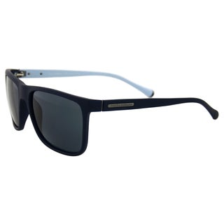 Dolce & Gabbana DG 6086 2806/87 - Blue Rubber/Grey by Dolce & Gabbana for Men - 56-17-140 mm Sunglasses