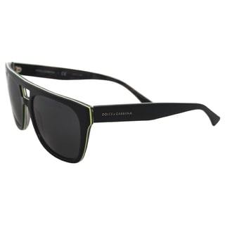 Dolce & Gabbana DG 4255 2953/87 - Black/Yellow/Camo by Dolce & Gabbana for Men - 56-19-140 mm Sunglasses