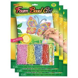 Artlover Foam Bead Art Board (Pack of 3)