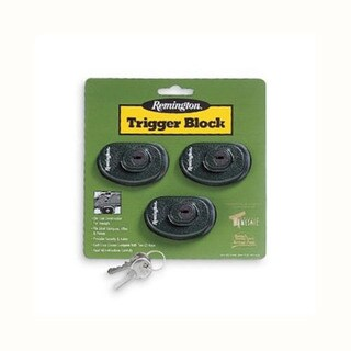 Remington Accessories Trigger Block (Keyed Alike)3 Pack