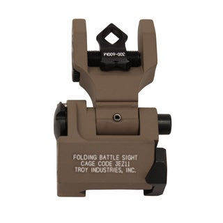Troy Industries DOA Rear Folding Sight Flat Dark Earth