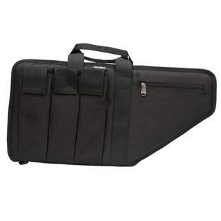 "Bulldog Cases Extreme Gun Case Black/Black 25"" Fits Sub Machine Guns"
