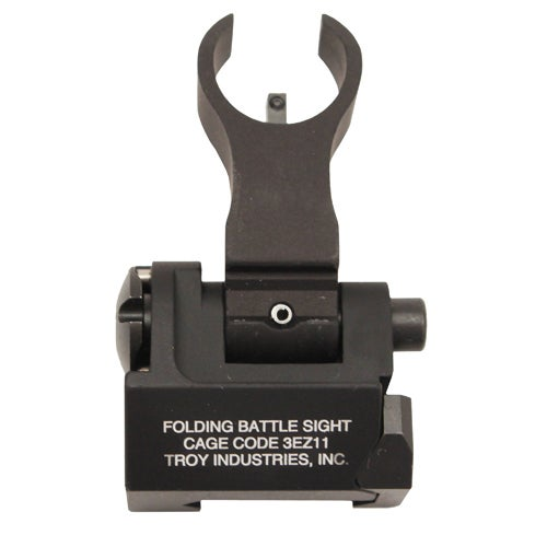 Troy Industries Front HK Style Sight Folding, Tritium, Black