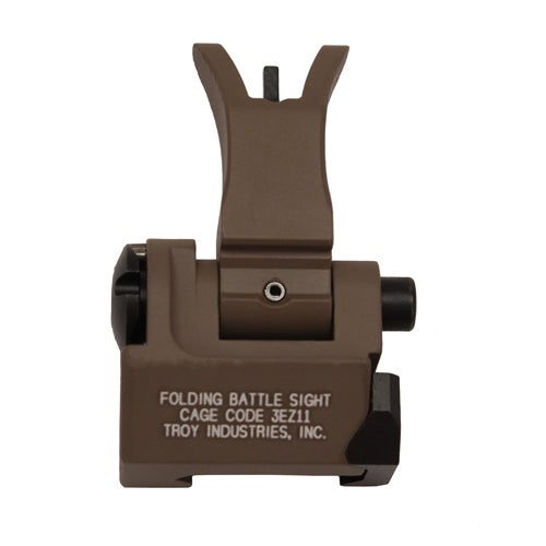 Troy Industries Front Folding Style M4 Sight Flat Dark Earth