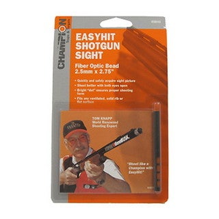 """Champion Traps and Targets Easy Hit Shotgun Sight 2.5mm, Red, 2.75"""""""