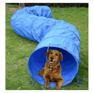 "Pawhut 16' x 24"" Dog Training Tunnel Chute"
