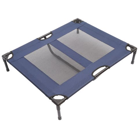 "Pawhut 36"" x 30"" Elevated Dog Bed / Pet Cot"
