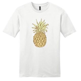 Pineapple' Funny White Unisex T-Shirt