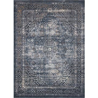 Rug Squared Tucson Navy Area Rug (9' x 12') (Option: 9' X 12')|https://ak1.ostkcdn.com/images/products/14206014/P20800284.jpg?impolicy=medium