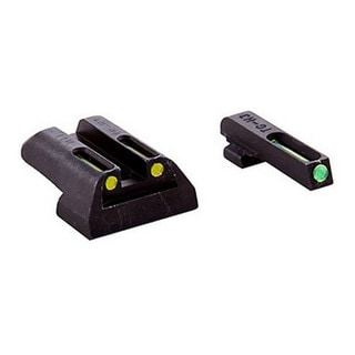 Truglo TFO Brite-Site Series Sig #8 front / #8 Rear, Yellow Rear Sight