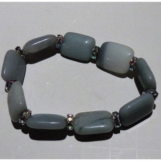 Pale Blue Amazonite Gemstone Bracelet