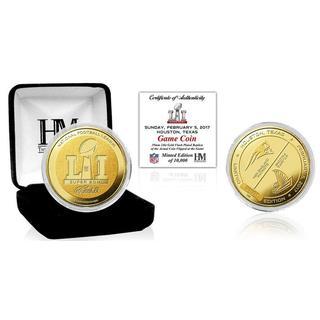 Super Bowl 51 Gold Flip Coin