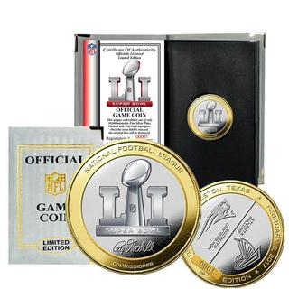 Super Bowl 51 Official Two-Tone Flip Coin