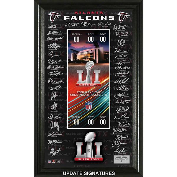 Super Bowl 51 Signature Ticket