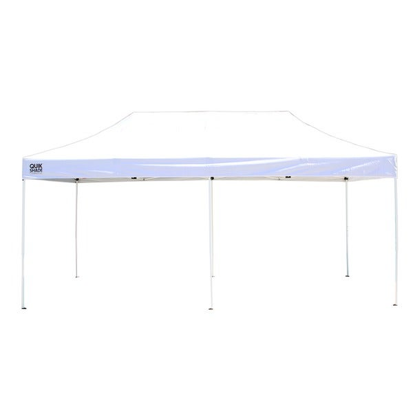 Quik Shade Commercial C200 10 x 20 Instant Canopy (White)  sc 1 st  Overstock & Quik Shade Commercial C200 10 x 20 Instant Canopy (White) - Free ...
