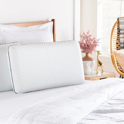 Linenspa Essentials AlwaysCool™ Gel Memory Foam Pillow