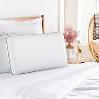 Linenspa Essentials AlwaysCool™ Gel Memory Foam Pillow
