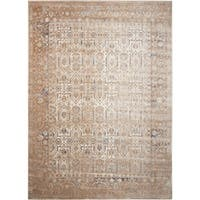 Rug Squared Tucson Taupe Area Rug (3'11 x 5'7) - 3'11 x 5'7