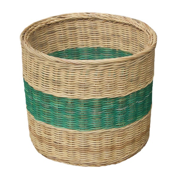 Handmade Wicker Magazine Basket (Indonesia)