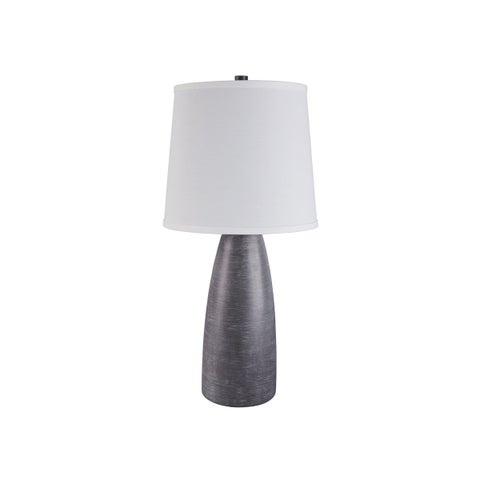 Shavontae Gray 28 Inch Poly Table Lamps - Set of 2