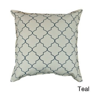 Sherry Kline Westbury Embroidered Reversible 20-inch Decorative Throw Pillow