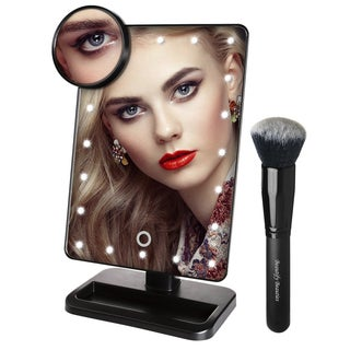 Beautify Beauties Black Rotatable Makeup Mirror