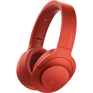 Sony h.ear On Wireless NC Headphones (Red)