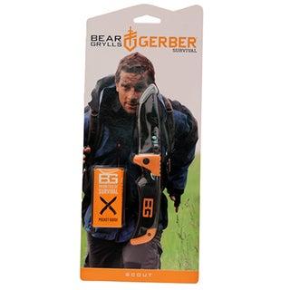 Gerber Blades BG Survival Series Scout, Drop Point, Black