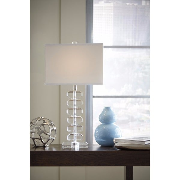 Signature Design by Ashley Janis Crystal Crystal Table Lamp