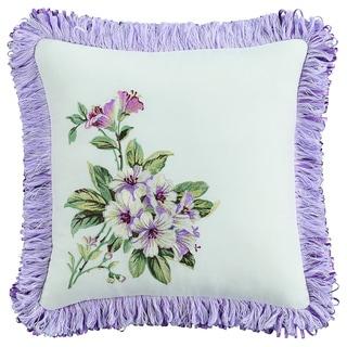 Williamsburg Palace Green 14x14 Decorative Throw Pillow