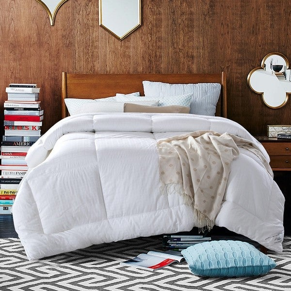 Qbedding Extra Warmth Down Alternative Comforter