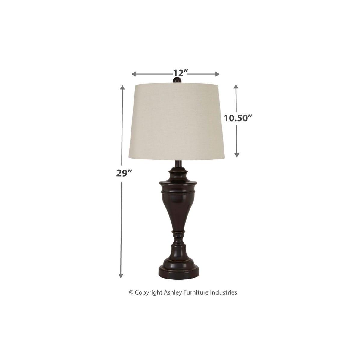 Darlita Bronze Finish 30 Inch Metal Table Lamps Set Of 2 On Sale Overstock 14206634