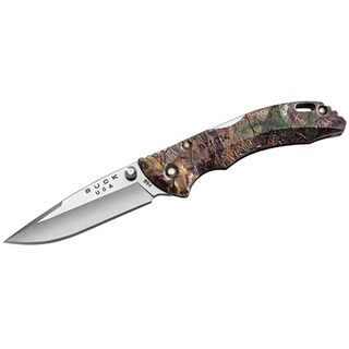 "Buck Knives Bantam BBW, 2 3/4"" Blade, RealTree Xtra Camo Nylon Handle, Boxed"