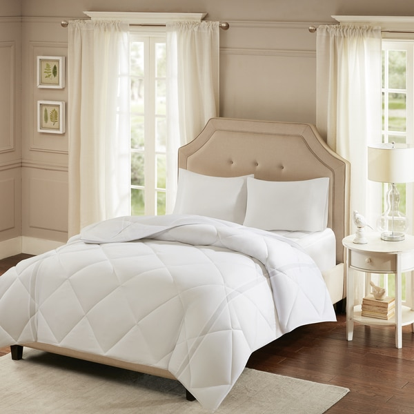 Smart Cool by Sleep Philosophy White Coolmax Down Alternative Comforter