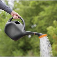 Bloem Easy Pour Watering Can, 1.6 Gallon, Black
