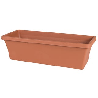 Bloem Terra Terra Cotta 30-inch Window Box Planter