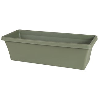 18-inch Living Green Bloem Terra Window Box Planter