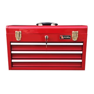 Red Excel TB133 20-Inch Portable Steel Tool Box